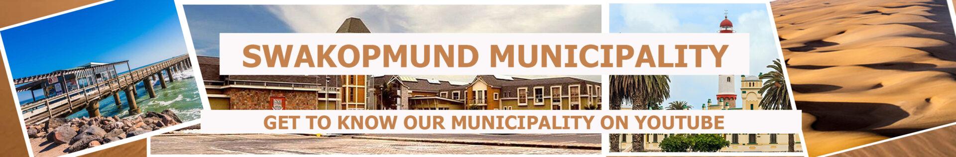 Swakopmund Municipality YouTube channel wall page